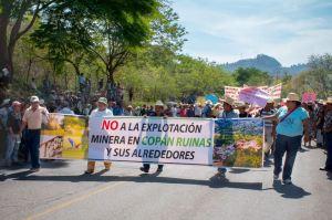 Foto de la pagina de facebook de la Coalicion Ambientalista Copan Ruinas